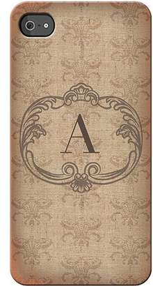 Generic Personalized Vintage Initial I Phone 4S Case