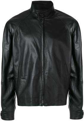 Prada lamb leather jacket