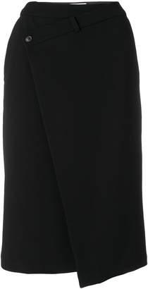 A.F.Vandevorst asymmetric buttoned skirt