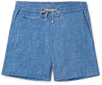 Loro Piana Maui Mid-Length Printed Swim Shorts