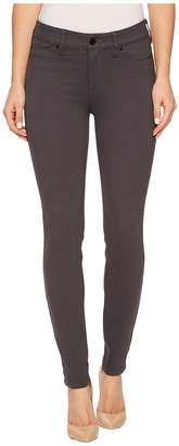 Liverpool Madonna Five-Pocket Leggings in Silky Soft Ponte Knit in Grey Armor Women's Jeans