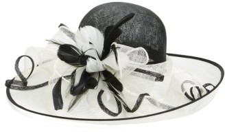 Women's Nordstrom Sinamay Derby Hat - Ivory $79 thestylecure.com