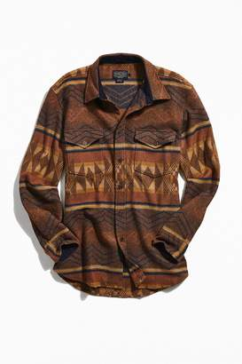 Pendleton Pinetop Patterned Wool Button-Down Shirt