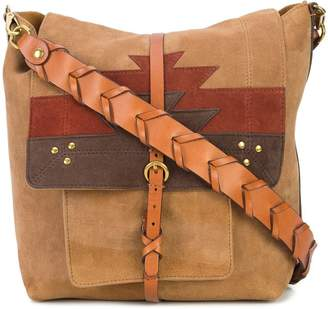Jerome Dreyfuss aztect pattern shoulder bag