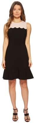 Kate Spade Scallop Sleeveless Dress Women's Dress