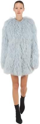 Sonia Rykiel Long Fur Coat