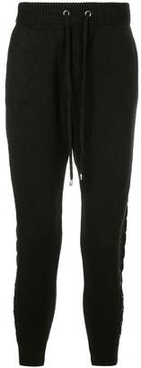 Loveless ribbed lounge trousers