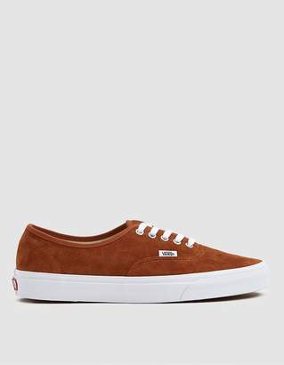 Vans Suede Authentic Sneaker in Brown