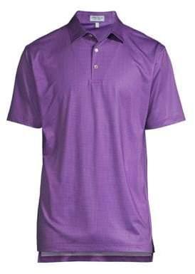 Peter Millar Tazza Print Foulard Polo Shirt