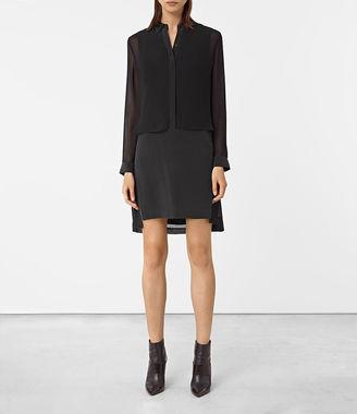 Radial Silk Dress $250 thestylecure.com