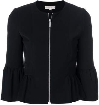 MICHAEL Michael Kors cropped peplum jacket