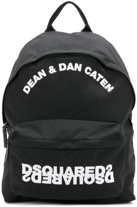 DSQUARED2 embroidered backpack