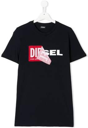 Diesel TEEN graphic print T-shirt
