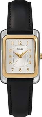 Timex Women's TW2T28900 Meriden Leather Strap Watch