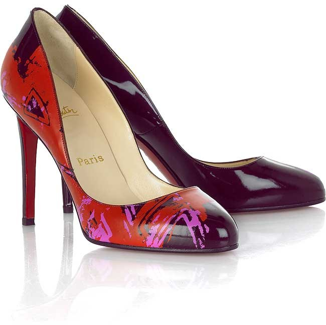 Christian Louboutin Clichy Painted pumps