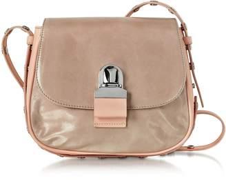Maison Margiela Pink Cracked Leather Shoulder Bag