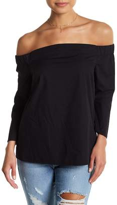 Jessica Simpson Pauline Bell Sleeve Off-the-Shoulder Blouse