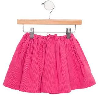 Caramel Baby & Child Girls' Striped Circle Skirt