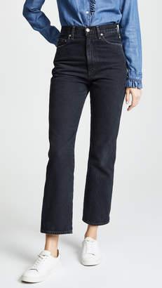 A Gold E Agolde Pinch Waist Jeans