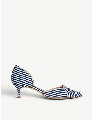 5fc09e546f20 LK Bennett Steph leather court shoes