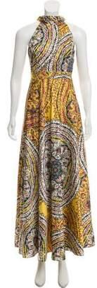 Nicole Miller Sleeveless Maxi Dress w/ Tags