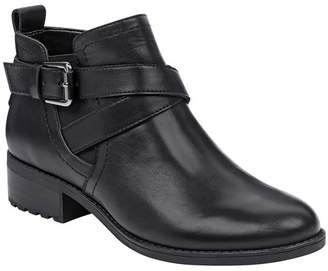 Easy Spirit Reward Leather Bootie - Wide Width Available