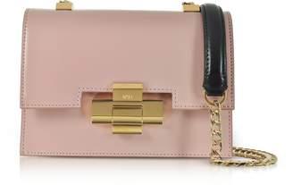 N°21 Mini Alice Nude& Black Nappa Leather Shoulder Bag