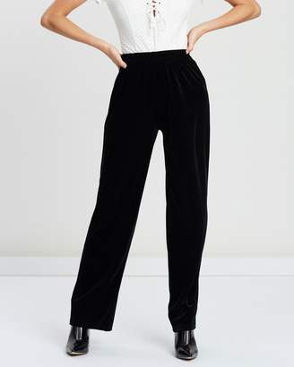 All I Wanna Do Velvet Track Pants