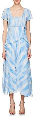 Sies Marjan Women's Gracen Tie-Dyed Chiffon Dress