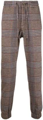 Etro checked joggers