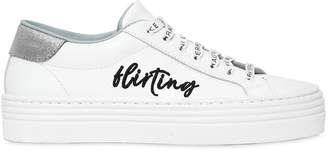 Chiara Ferragni 40mm Flirting Leather Sneakers