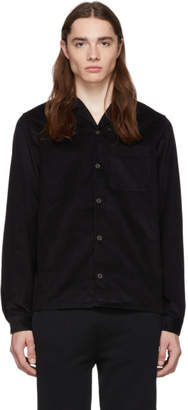 Prada Black Corduroy Shirt