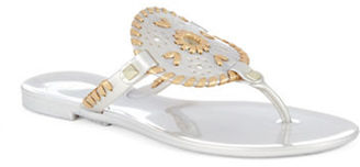 Jack Rogers Georgica Jelly Sandals $49 thestylecure.com
