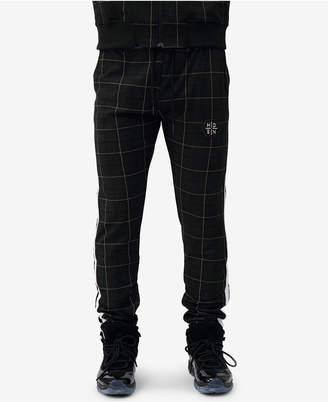Hudson Nyc Men's Glen Plaid Track Pants