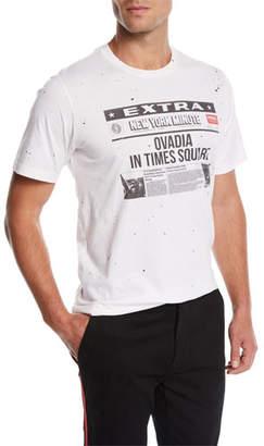 Ovadia & Sons Men's NY Minute Graphic T-Shirt