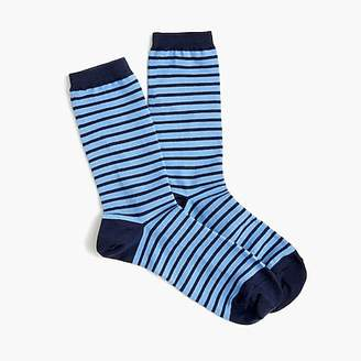 J.Crew Trouser socks in thin stripes