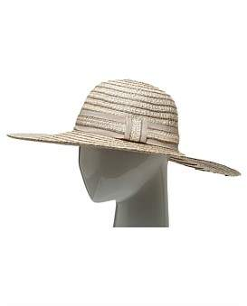 The Two Mrs Grenvilles Paper Braid Wide Brim Hat