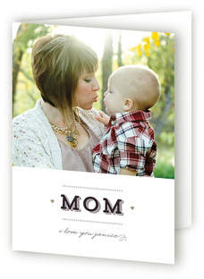XOXO Mom Mother's Day Greeting Cards