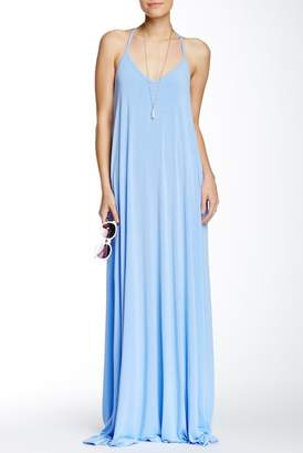 American Twist Spaghetti Maxi Dress