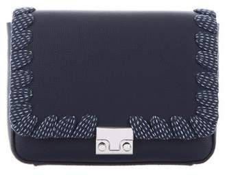 Loeffler Randall Lock Leather Convertible Clutch