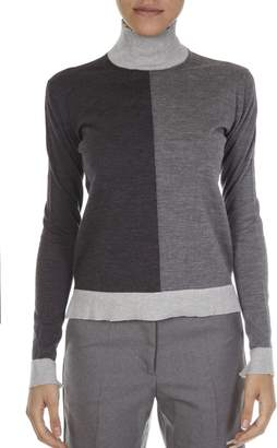 Golden Goose Mix Grey Merino Wool Jersey