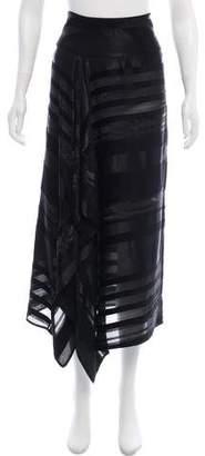 Zero Maria Cornejo Asymmetrical Maxi Skirt w/ Tags