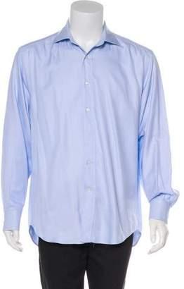 Etro Jacquard Chevron Shirt