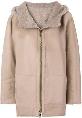 Sylvie Schimmel hooded shearling jacket