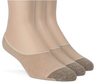 Frad Rivka Women's Cotton Premium No Show Liner Socks - 3 Pairs