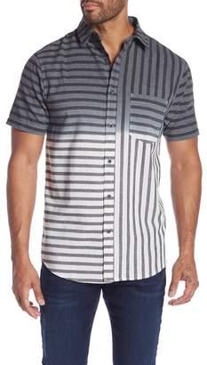 Sovereign Code Slope Ombre Print Regular Fit Shirt