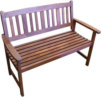 The Import Depot Outdoor Benches Malay 2 Seater Outdoor Bench