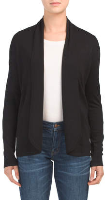 Open Front Long Cardigan Sweater