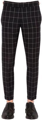 Windowpane Cool Wool Pants $1,025 thestylecure.com