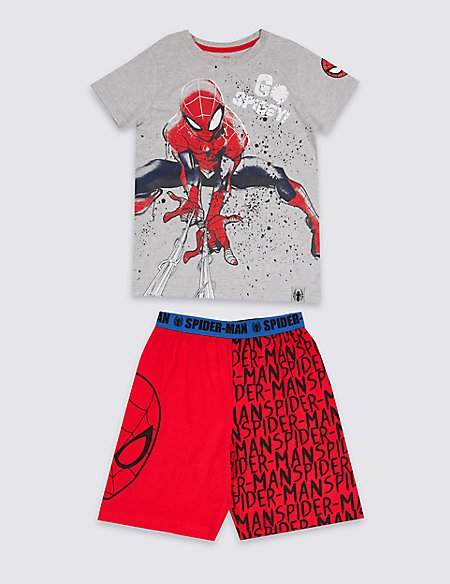 Spider-ManTM Cotton Pyjamas (2-8 Years)